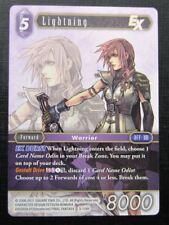Lightning 3-118H - Final Fantasy Card # 7I60