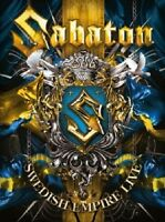 SABATON - SWEDISH EMPIRE LIVE 2 DVD HEAVY METAL NEU+++++++++++++