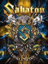 SABATON - SWEDISH EMPIRE LIVE 2 DVD HEAVY METAL NEU+++++++++++++