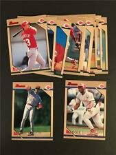 1996 Bowman Cincinnati Reds Team Set 13 Cards