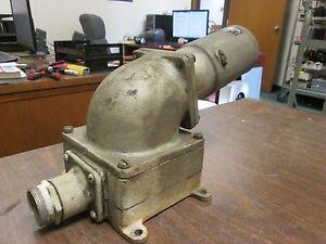 Appleton Dead End Receptacle w/ Base AJ 63745 3W 3P 60A 575VAC Used - no cap