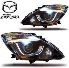 MAZDA BT50 BT-50 PRO FRONT BLACK LEN HEADLIGHT LED MC 2012 13 14 15 16 17 2018