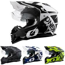 O'Neal Motorrad Enduro Helm Sierra R Cross MX Adventure Sonnenblende Belüftet