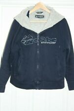 DARE 2 BE APRES SKI LEISURE THICKLY FLEECE LINED HOODIE IN SIZE M 40 NAVY BLUE