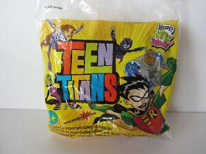 Wendy's Kids Meal Toy - DC Comics Teen Titans   NIP  (1020D)  S05