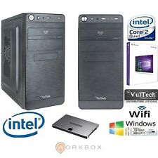 PC DESKTOP COMPLETO QUAD CORE WINDOWS 10 PROFESSIONAL 64 BIT 2.0GHZ 8GB 1TB WIFI
