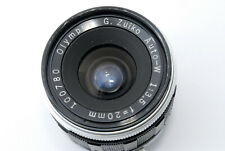 [AS IS] Olympus G.Zuiko Auto-W 20mm F/3.5 Lens for Pen F From Japan #611645