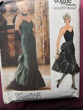 VOGUE DESIGNER ORIGINAL Dress  by BELLVILLE SASSOON