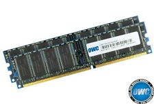 2GB OWC DDR2 PC3200 400 MHz doble canal kit (2 x 1GB) CL3 184-pin DIMM