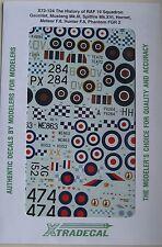 XTRADECAL 1/72 x72124 storia di N. 19 set di decalcomanie Squadrone RAF