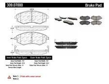 Disc Brake Pad Set fits 1989-2006 Nissan 240SX Sentra Stanza  STOPTECH