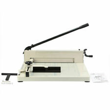 "Heavy Duty Guillotine Paper Cutter 17"""" Commercial Metal-base A3 Trimmer"