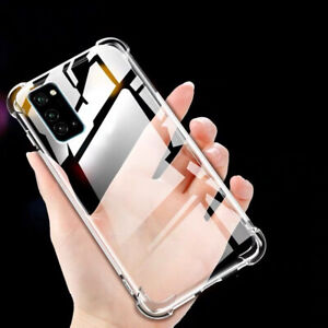 Clear Bumper Case For Samsung Galaxy A12 A32 5G A42 A52 A72 5G Soft Rubber Cover