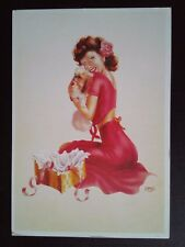 CPM PIN'UP NEW YORK CARDS MRC SOLLY A.LAURENT HUILE