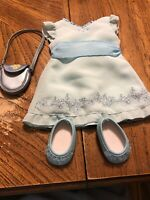 American Girl Partial Petals And Posies Outfit w/ Bonus Flower Purse EUC Retired