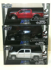MotorMax American Legends Diecast Trucks Lot Of 3 Pull Back and Go 1:43 New