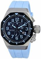 Swiss Legend Men's 10540-01-BB-BBLA Trimix Diver Chronograph Black Dial Watch