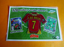 7 T. DE MELO LE MANS MUC  FOOTBALL JUST FOOT MAGNETS 2008 PANINI