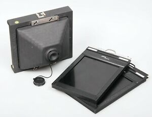 Ilford Harman Titan 5x4 Pinhole camera large format kit with 2 x film holders