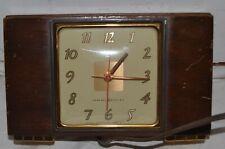 "Vintage General Electric model 3H176 the ""Geneva"" alarm clock Art Deco"