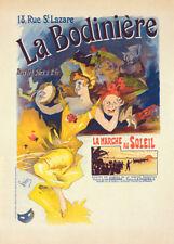 La Bodinière by Jules Cheret 90cm x 64cm Art Paper Print