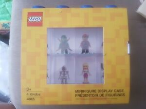 Lego Minifigure display case 4065- Brand new And Sealed