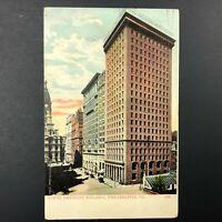 VTG North American Building Philadelphia PA Postcard 1909 Downtown Architecture