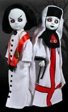 Living Dead Dolls Sinister Minister & Bad Habit White version set~Mezco~Nimb