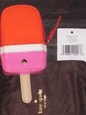 KATE SPADE Popsicle  Coin Purse Flavor of the Month Orange/Fuschia NWT