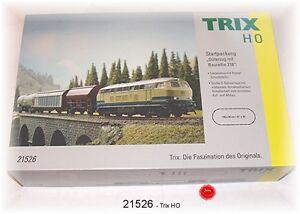 """Trix 21526 Startpackung """"Güterzug"""" mit BR 216 #NEU in OVP#"""