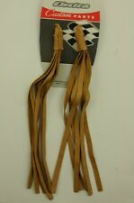 ULTIMATE 70's RALEIGH CHOPPER ACCESSORY LEATHER HANDLEBAR STREAMERS TASSELS
