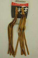 ULTIMATE années 70 RALEIGH CHOPPER Accessoire Cuir Guidon Serpentins pompons