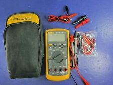 Fluke 87V TRMS Multimeter, Excellent, Screen Protector, Case, Accessories!