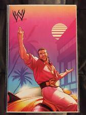 WWE #1 NM+ Razor Ramon (1:50) Virgin Variant Campbell BOOM! Studios VHTF L@@K!!