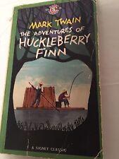 Mark Twain The Adventures Of Huckleberry Finn Paperback Book 1959