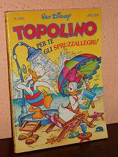 TOPOLINO N° 1962 del 4 luglio 1993   walt disney