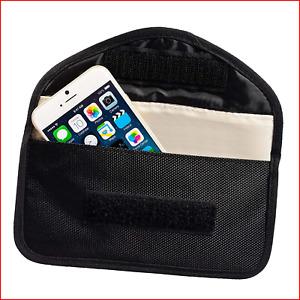 ECENCE RFID radiation protection bag Mobile phone smartphone No-signal radio bag