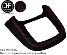 White stitch 2x B pilier garniture peau housse s/' adapte à Land Rover Defender 90 110 83-06