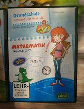 Lern cd-rom Grundschule Hexe Lilli Mathe 1 + 2 Klasse