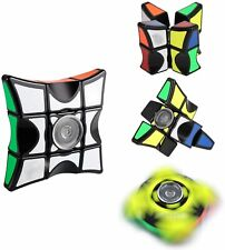 Finger Fidget Spinner Stress Relief Toy Anti Anxiety Rubix Cube Puzzle Focus