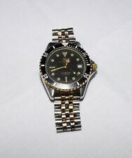 Vintage Tag Heuer Professional 200M 37mm Two-Tone Stainless Steel Watch 980.020D