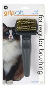 JW Pet GripSoft Slicker Brush for Cats Small