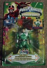 Power Rangers Time Force Auto Morphin Green Ranger - Mint, New, Automorphin