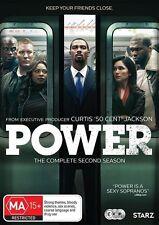 Power : Season 2 (DVD, 2016, 3-Disc Set) Region 4 New Sealed (D227)