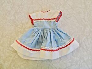"Vintage 1950's Original Ideal Shirley Temple 12"" Doll Dress NEEDS MINOR REPAIRS"