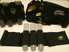 Paintball Pod Harness Belts, Chest Protector & Bag Extreme Rage Viewloader 14 Pc