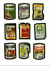 1982 1985  Rare Topps Wacky Packages Irish UK Complete Sticker Card Set 30/30 NM