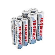 8PCS Tenergy 4AA+4AAA Premium 2500mAh 1000mAh NiMH Rechargeable Batteries Cells