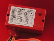 RIB RIB21CDC Red Enclosed Pre Wired Relay,Pilot Duty (Loose)