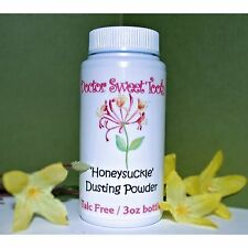 HONEYSUCKLE Handmade Scented Body Powder TALC FREE